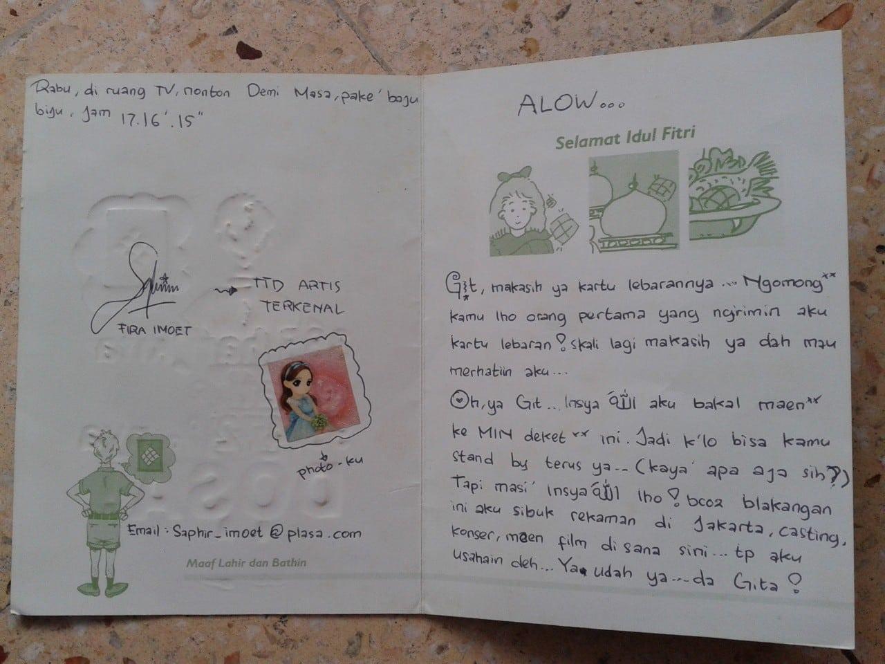 Kartu Ucapan Orang Meninggal - contoh kartu ucapan