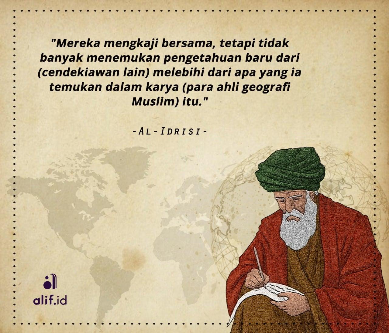 Ilmuwan Besar Dalam Dunia Islam 7 Persekutuan Al Idrisi