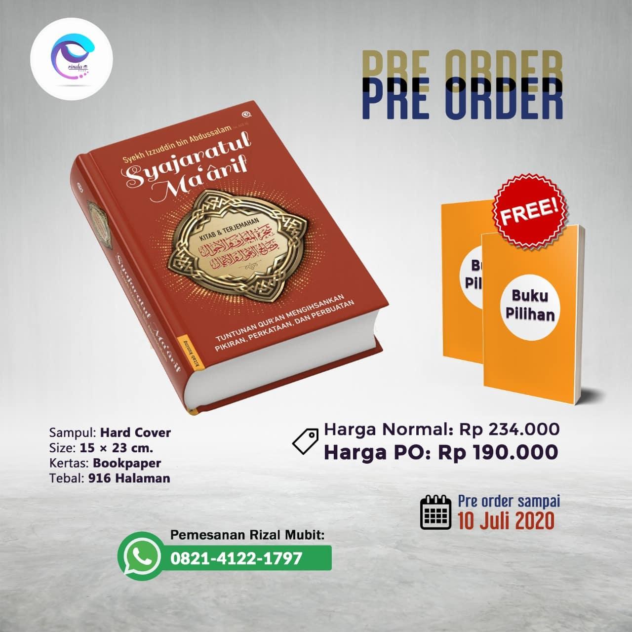 Buku Syajarotul Ma'arif